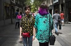 Leit Divat and Carlota Acha, Madrid, 2015