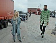 Top Model Tanya Dzahileva  and Singer Stromae