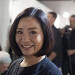 Designer Guo Pei, avant son défilé Haute-Couture, Janvier 2016, Paris.