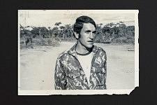 Portrait de Guilherme en soldat envoyé à sa mère du front