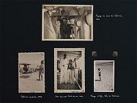 Planche de l'album avec les photos de famille de Catarina