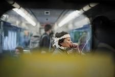 In the train between Alcantara and Belem