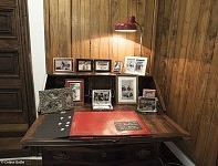 Le bureau de Fernanda où elle composa l'album pour son fils