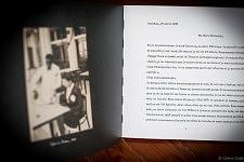 """La lettre de Fernanda dans le livre """"Accepte-le, Un Album portugais 1919-1979"""" de Céline Gaille"""