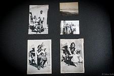 """Naissance et enfance de Catarina à travers ses photos de famille dans livre """"Accepte-le, Un Album portugais 1919-1979"""" de Céline Gaille"""