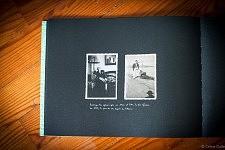 """Les deux pères de Fernanda réunis sur la même page de l'album """"Accepte-le, Un Album portugais 1919-1979"""" de Céline Gaille"""