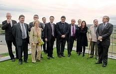 Inauguration de l'ehpad en janvier 2013.