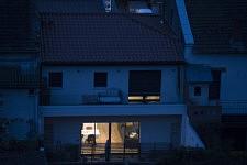 Un aperçu d une soiree tranquille dans la maison de mon voisin, le 15 avril 2020.