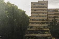 Orage sur Toulouse, 25 avril 2020.