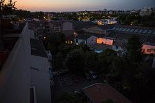 Dernier week end de confinement et experimentation photographique sur le balcon pour tenter de saisir autre chose que la simple réalité.