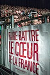 Slogan of the french socialist candidate at the french presidential election on a poster inside the Zenith, Toulouse.Slogan du candidat socialiste à l'élection présidentielle 2017 sur une bannière au Zénith, à Toulouse.