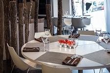 Vue intérieure du restaurant La Storia, Toulouse, Octobre 2017.