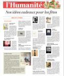Sélection beaux livres de Magali Jauffret dans L'Humanité, décembre 2016