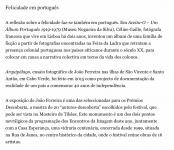 Publico sur le Festival Encontros da Imagem à Braga, 2016