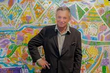 Gérard Garouste, peintre et fondateur de l'Association La Source, 9 septembre 2011, Paris.
