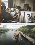 Double page de la rubrique Icono - coup de coeur de Vincent Pérez : une image extraite de ma série sur le backstage Haute-Couture de Ulyana Sergeenko, Paris 2017