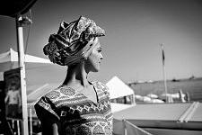 Young italian beauty on the Croisette, Cannes Film Festival 2017. Jeune beauté italienne sur la Croisette, Festival de Cannes 2017.