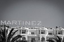 View of the Grand Hyatt Hotel Martinez, Cannes Film Festival 2017. Vue du sommet du Grand Hyatt Hotel Martinez, Cannes Film Festival 2017.