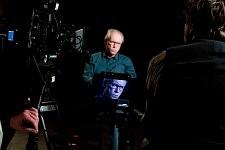 Keith Dixon, politologue, sur le tournage de Notre Monde de Thomas Lacoste, 2012.