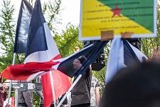 Jean-Luc Mélenchon speaking about Freedom during his Meeting in Toulouse, April 16th, 2017. Jean-Luc Mélenchon tenant son discours sur la liberté pendant son meeting à Toulouse, le 16 avril 2017.