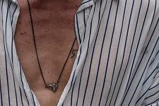 Detail of Ricky Van Gils during the Men's fashion week, June 22, 2017. Détail de Ricky van Gils pendant la semaine de la Mode Homme, le 22 juin 2017.