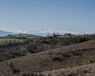 Paysage Arigeois vers Camarade, Mars 2019