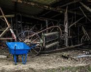 Le Hangar des Vieilles Mécaniques, Ferme du Cap de la Goutte, Juillet 2019