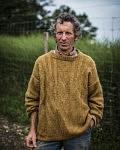Roberto, fermier d'origine suisse au Cap de la goutte prônant la traction animale et le meilleur de la biodynamie, Juillet 2019