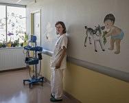 Lucie, sage-femme, venue de Belgique à la recherche de la paysannerie, Saint-Girons, Février 2020