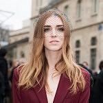 Portrait of the fashion blogger and influencer Chiara Terragni, Paris