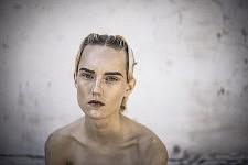 Portrait of the model Harleth Kuusik