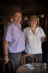 Monsieur et madame Teyssèdre, gérants du Café Maurice à Toulouse, octobre 2017.
