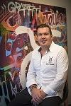 Olivier Godechoul, Chef cuisinier de l'Hôtel-restaurant le Sixty-Two, Toulouse, Octobre 2017.